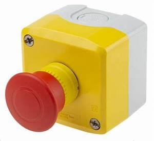Bouton Arret D Urgence : xalk198 bouton d 39 arr t d 39 urgence diam tre 40mm jaune ~ Nature-et-papiers.com Idées de Décoration