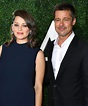 Brad Pitt Steps Out at an Allied Event Alongside Pregnant ...