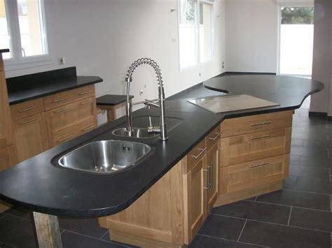 plan de travail cuisine granit noir plan de travail cuisine granit maison design bahbe com