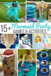 15+ Mermaid Party Games & Activities ⋆ Sugar, Spice and