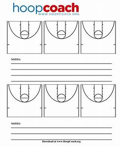 Half Court Basketball Diagrams