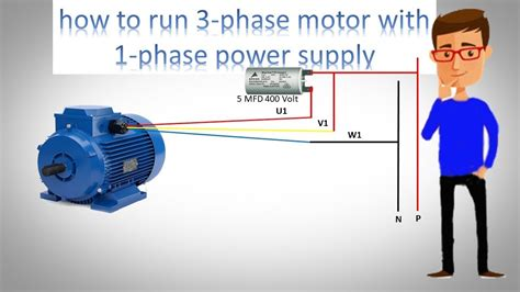 How Run Phase Motor With Power Supply