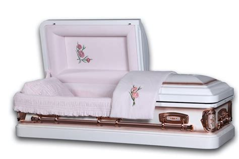 white caskets inexpensive caskets  shipping