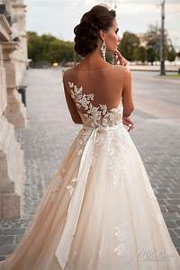 Lace Back Wedding Dress – Top Famous Spring Fashion Design