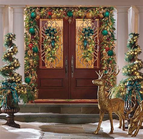 pin  frontgate  holiday decor pinterest