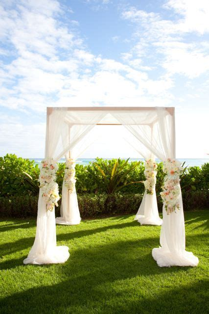 outdoor wedding canopy  pinterest wedding stage