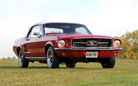 Charles Dance's 1967 Ford Mustang For Auction Classic