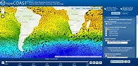 Ocean Currents Map: Visualize Our Oceans Movement - GIS ...