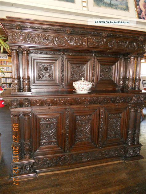 1000 Images About Victorian Oak Sideboards On Pinterest