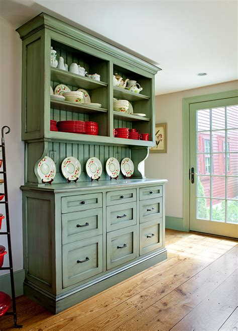 painted kitchen hutches best color for kitchen cabinets painted hutch