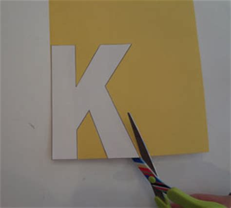 letter  kite craft  kids network