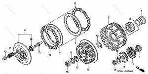 Honda Atv 2005 Oem Parts Diagram For Clutch