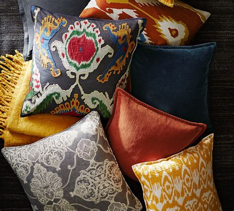 Pillows At Pottery Barn by Pottery Barn Printed And Patterned Pillows