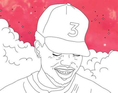 Chance The Rapper Coloring Books Are Now Available