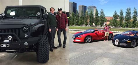 Top 7 Nhl Players' Cars