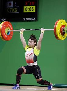 Powerful Miyake Takes Bronze In Weightlifting