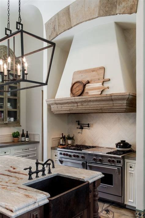 stucco stove hood home modern farmhouse kitchens home
