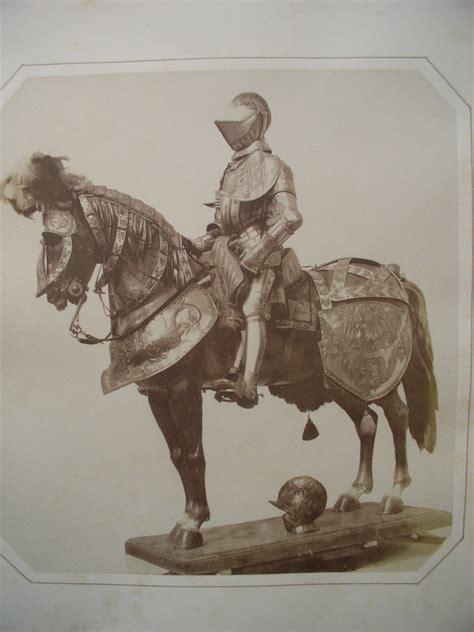 horse knight rider armor armour 1595 created equipment von saddles ferdinand tirol graf erzherzog