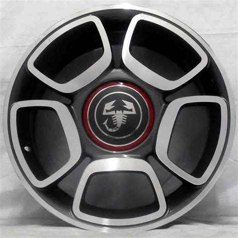 Fiat Abarth Wheels by 16 Fiat 500 Abarth 08 Alloy Wheels 4x98