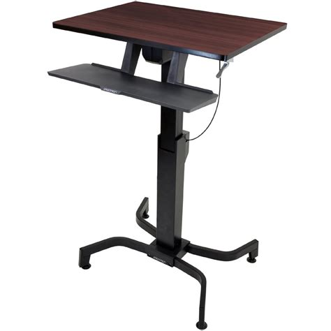 sit stand desk base standing desk ergotron 24 280 927 workfit pd