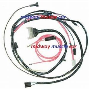 Engine Wiring Harness 62 Chevy Impala Bel Air Biscayne Ss