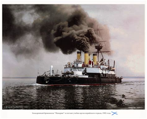 colorized    russian imperial fleet russia