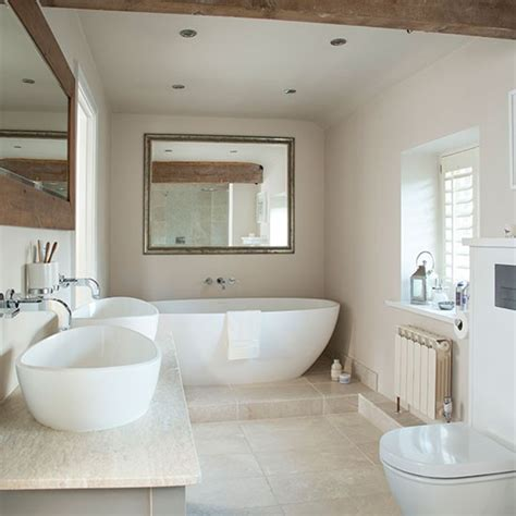 Neutral Bathroom Decor by Neutral Tiled Bathroom Decorating Housetohome Co Uk
