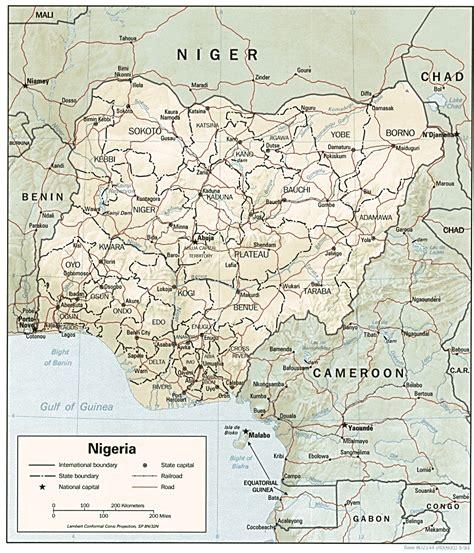 mapsofnigeria