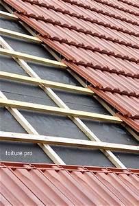 Crochet Mur Beton : pose d 39 une toiture en tuiles le guide 2018 ~ Zukunftsfamilie.com Idées de Décoration