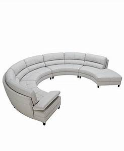 Franchesca leather sectional sofa 4 piece loveseat 2 for 8 piece leather sectional sofa
