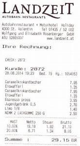 Restaurant Rechnung : landzeit st valentin rechnung landzeit autobahn restaurant motor hotel st valentin st ~ Themetempest.com Abrechnung