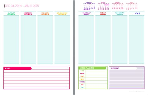 free daily calendar 2015 2015 daily planner free printable calendar template 2016