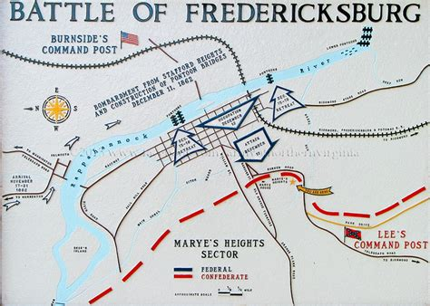 The Sunken Road and Stone Wall at Fredericksburg in the ...