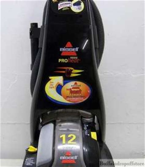Bissell Proheat 12 Carpet Cleaner Instructions   Carpet