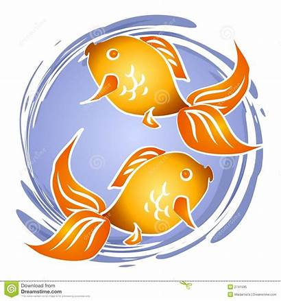Fish Goldfish Clip Bowl Clipart Royalty Dreamstime