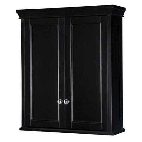 home depot wall cabinets home decorators collection haven 24 3 4 in w bathroom
