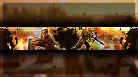 Fortnite Banner Template No Text