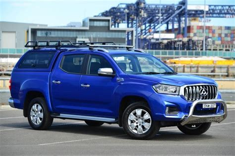 Solid roof racks, sturdy side steps, chrome sports bar and a brute grille complete the look. LDV launch accessories for T60 ute - LDV launch ...