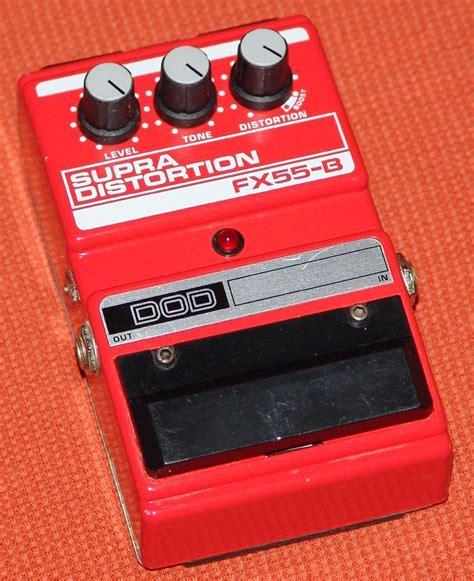 Dod Supra Distortion Fx55-b