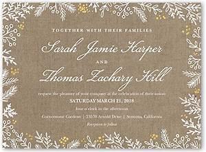 burlap flourishes 6x8 wedding invitation shutterfly With 6x8 wedding invitations