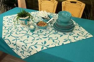 Tischdecken Für Draußen : gartentischdecke aqua blau ibiza marina ab 80x80 bis 200x200 cm quadratisch tideko ~ Frokenaadalensverden.com Haus und Dekorationen