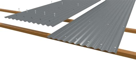 steps   install corrugated metal roofing