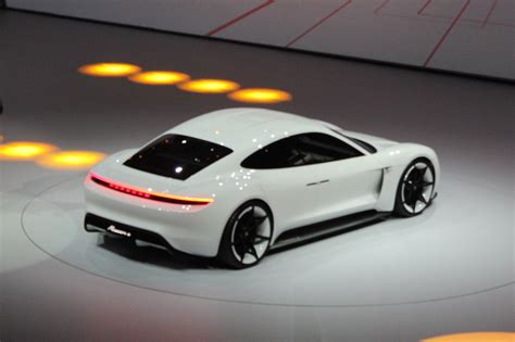 porsche concept will the tesla inspired porsche mission e be built and