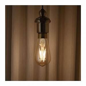Gäste Wc Lampe : lunnom led leuchtmittel e27 400 lm dimmbar tropfenf rmig klarglas braun for the home ~ Markanthonyermac.com Haus und Dekorationen