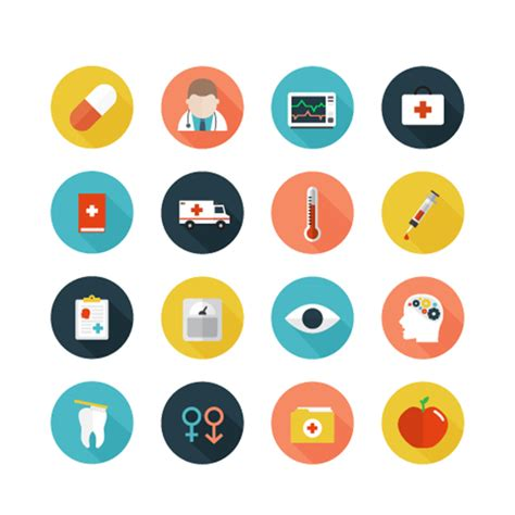 Download health insurance stock photos. Free Healthcare Icons set - Free Vector Site   Download Free Vector Art, Graphics