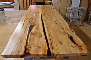 Massivholzplatte Mit Baumkante : original kauri tisch exklusive kauri tische massiv holztische esstische ~ Markanthonyermac.com Haus und Dekorationen