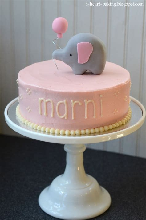 cakes for baby shower i heart baking elephant baby shower cake