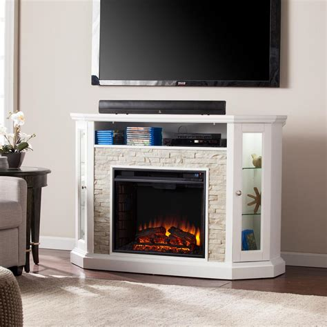 corner electric fireplaces electric fireplaces