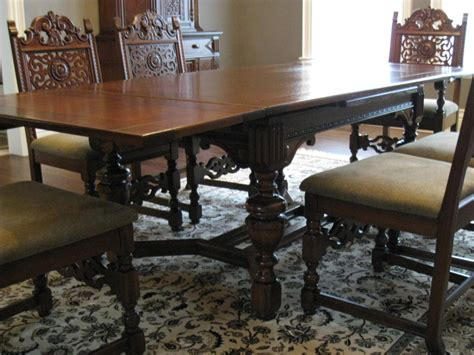 wood dining tables for antique dining room furniture 1930 187 dining room decor 1930