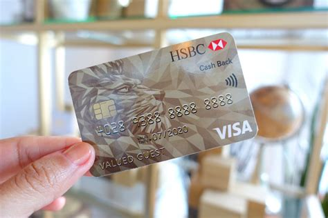 Hsbc Credit Cards Launch The First Ever Visa Cashback Card